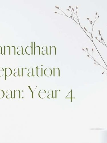Welcoming Ramadhan